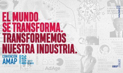 El mundo se transforma. Transformemos nuestra industria. Convención AMAP 2018