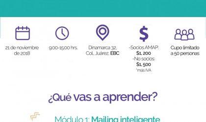 Workshop AMAP: Mailing inteligente y métricas eficientes