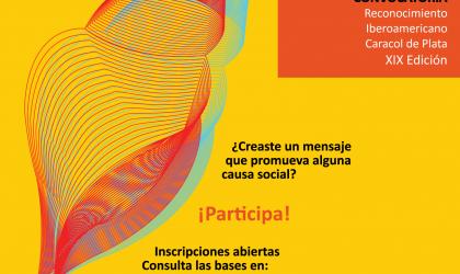Cemefi anuncia la convocatoria del XIX Reconocimiento Iberoamericano Caracol de Plata, que premia a los mensajes con causa social