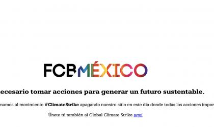 FCB MÉXICO TOMA ACCIONES A FAVOR DE UN FUTURO SUSTENTABLE Y SE SUMA AL MOVIMIENTO GLOBAL#ClimateStrike