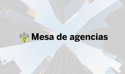 Mesa de agencias