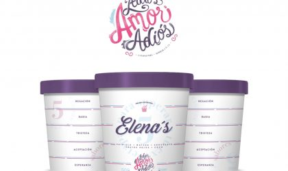 VMLY&R Commerce y Elena's lanzan helado que ayuda a superar el desamor
