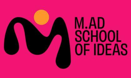 M.AD School Of Ideas: Nueva identidad para la escuela internacional de creatividad
