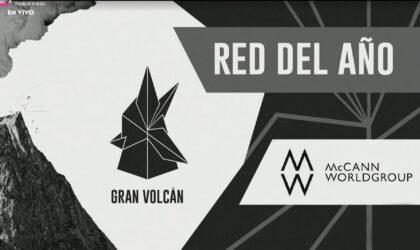 McCann fue elegida red del año en el Festival Volcán 2021